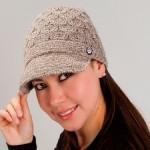Alpaca Brimmed Hat