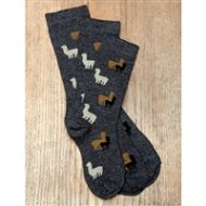 Kids alpaca sock
